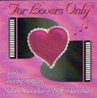 REBECCA KILGORE For Lovers Only album cover
