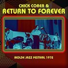 RETURN TO FOREVER Molde Jazz Festival 1972 album cover