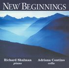 RICHARD SHULMAN New Beginnings album cover