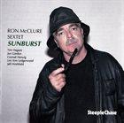 RON MCCLURE Ron McClure Sextet : Sunburst album cover