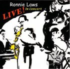RONNIE LAWS Live! In Concert album cover