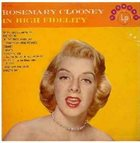 ROSEMARY CLOONEY Rosemary Clooney In High Fidelity album cover