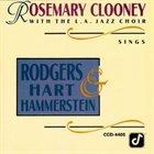 ROSEMARY CLOONEY Rosemary Clooney Sings Rogers, Hart & Hammerstein album cover