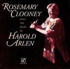 ROSEMARY CLOONEY Rosemary Clooney Sings the Music of Harold Arlen album cover