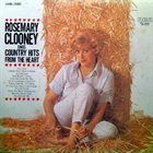 ROSEMARY CLOONEY Sings Country Hits from the Heart album cover