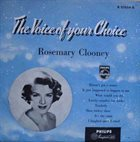 ROSEMARY CLOONEY The Voice Of Your Choice album cover