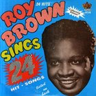 ROY BROWN Sings 24 album cover