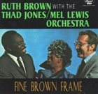 RUTH BROWN Fine Brown Frame album cover