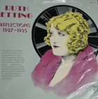 RUTH ETTING Reflections 1927-1935 album cover