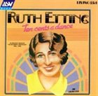 RUTH ETTING Ten Cents a Dance (Original Recordings From 1926-1930) album cover