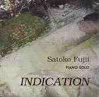 SATOKO FUJII Indication album cover