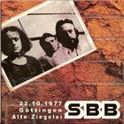 SBB 22.10.1977, Göttingen, Alte Ziegelei album cover