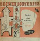 SIDNEY BECHET Sidney Bechet, Claude Luter, André Réwéliotty Et Son Orchestre : Bechet-Souvenirs album cover