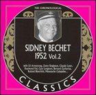 SIDNEY BECHET The Chronological Classics: Sidney Bechet 1952, Volume 2 album cover