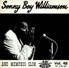 SONNY BOY WILLIAMSON II Sonny Boy Williamson And Memphis Slim album cover