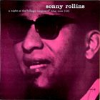 SONNY ROLLINS A Night at the Village Vanguard album cover