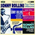 SONNY ROLLINS Four Classic Albums album cover