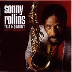 SONNY ROLLINS Trio & Quartet (Paris 1965-Copenhagen 1968) album cover