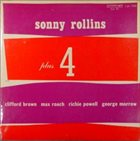 SONNY ROLLINS Plus 4 (aka 3 Giants!) album cover