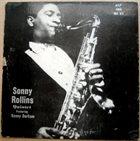 SONNY ROLLINS Sonny Rollins All Stars (aka Sonny Rollins Quintet) album cover