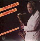 SONNY STITT Sonny's Back album cover