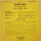 STAN GETZ Stan Getz And Swedish All Stars Featuring Bengt Hallberg : Vol. 2 album cover