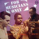 STAN GETZ Stan Getz / Dizzy Gillespie / Sonny Stitt : For Musicians Only album cover