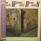 STAN GETZ Stan Getz, Wardell Gray, Benny Green : At The 50's album cover