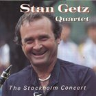 STAN GETZ The Stockholm Concert album cover