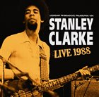 STANLEY CLARKE Live 1988 album cover