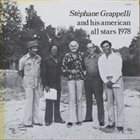 STÉPHANE GRAPPELLI And His American All Stars 1978 (aka Sweet Chorus) album cover