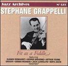STÉPHANE GRAPPELLI Fit as a Fiddle 1933-1947 album cover