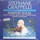 STÉPHANE GRAPPELLI En Concert Avec Martial Solal – Olympia 1988 album cover