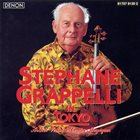 STÉPHANE GRAPPELLI Stephane Grappelli in Tokyo album cover