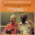 STÉPHANE GRAPPELLI Stéphane Grappelli Quintet Featuring Bill Coleman : Les Grands Classiques Du Jazz album cover