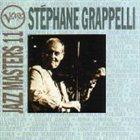 STÉPHANE GRAPPELLI Verve Jazz Masters 11 album cover