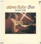 STEVE KUHN Live in New York album cover
