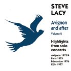 STEVE LACY Avignon And After Volume 2 album cover