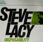 STEVE LACY Disposability album cover