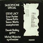 STEVE LACY Saxophone Special album cover