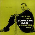 STEVE LACY Soprano Sax album cover
