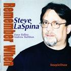 STEVE LASPINA Remember When album cover