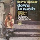 STEVIE WONDER Down to Earth album cover
