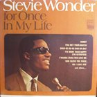 STEVIE WONDER For Once in My Life album cover