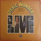 STEVIE WONDER Stevie Wonder Live (aka Live In Person On Tour In U.S.A. aka Live In America) album cover