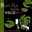 SUN RA Solo Piano at WKCR 1977 album cover