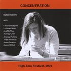 SUSAN ALCORN Concentration album cover