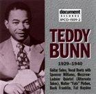 TEDDY BUNN Teddy Bunn 1929-1940 album cover
