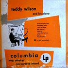 TEDDY WILSON Teddy Wilson And His Piano album cover