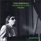 TETE MONTOLIU Words of Love album cover